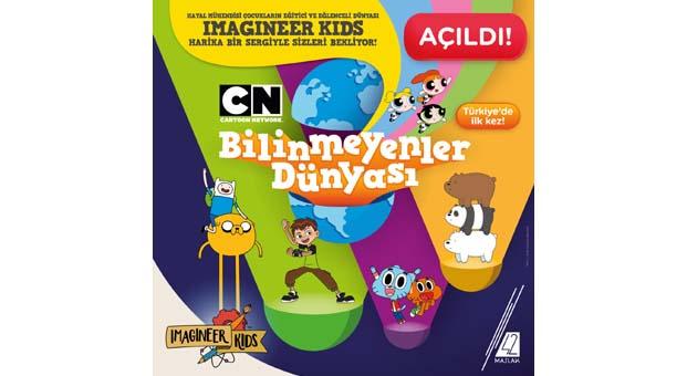 Türkiye'nin ilk deneyimsel çocuk eğlence ve kültür merkezi IMAGINEER KIDS açıldı
