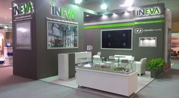 INEVA atığı enerjiye dönüştüren teknolojisi ile IFAT Eurasia'da