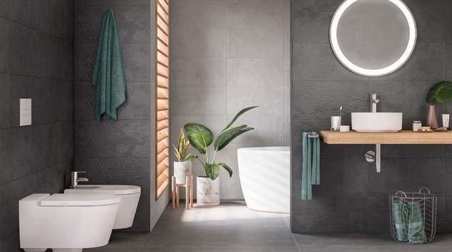 Banyolarda kompakt tasarımlarla hafiflik zamanı