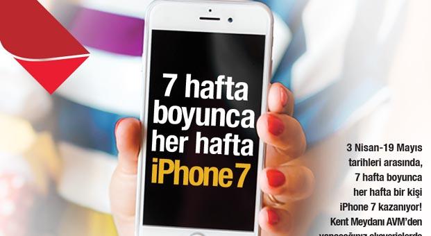 Kent Meydanı AVM'de Haftanın iPhone talihlisi kim belli oldu