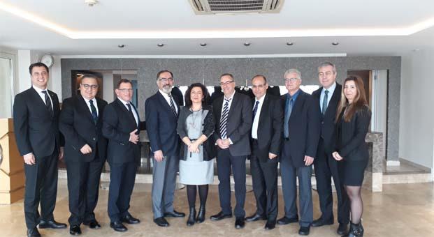 İsrail Müteahhitler Birliği Türkiye İMSAD üyelerini ziyaret etti