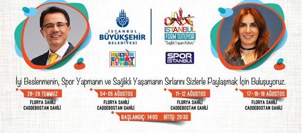 """Sağlıklı yaşam için """"İstanbul Form Tutuyor"""""""