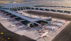 İstanbul Havalimanı'nda yapımı tamamlanan 3. bağımsız pistin açılışı yapıldı
