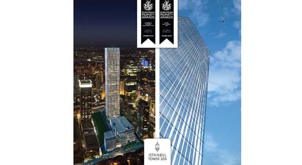 İstanbul Tower 205'e European Property Awards'dan iki ödül