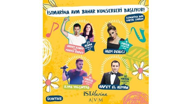 İstMarina AVM bahar konserleri başlıyor