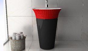 Banyolarda 'kırmızı siyah' etkisi