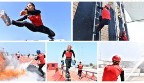Dünya itfaiyecileri İzmir'de yarışacak