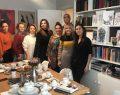 İyilik İçin Sanat Derneği üyeleri ressam Pemra Aksoy'u ziyaret etti