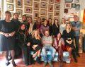 İyilik İçin Sanat Derneği üyeleri ressam Erkan Yaprakkıran'ı ziyaret etti