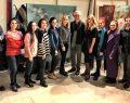 İyilik için Sanat Derneği üyelerinden Atölye Pasajı sanatçılarına ziyaret