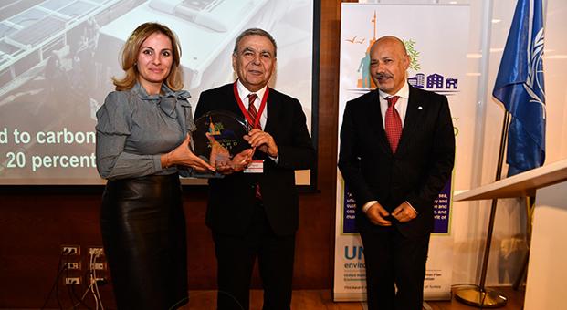 Akdeniz'de ilk ödül İzmir'in
