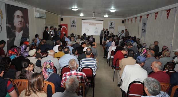 İzmir Kınık'ta 137 konutun kurası çekildi