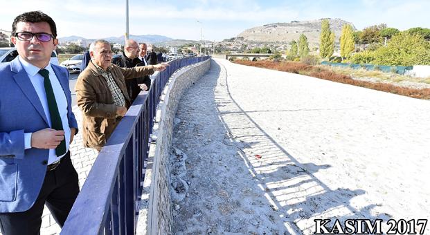 İzmir Büyükşehir'den Bergama'ya yeni köprü