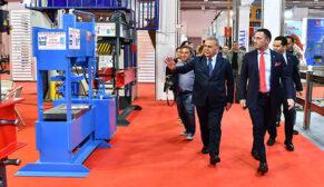 Başkan Kocaoğlu makina imalatçıları ile buluştu