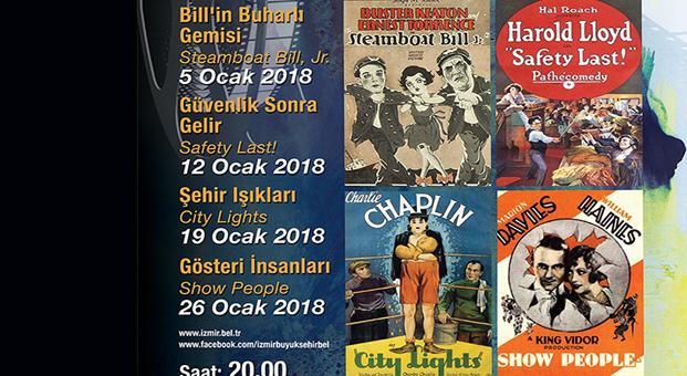 Sessiz sinemanın devleri İzmir'de buluşuyor