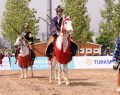 Japon Atlı Okçuluğu Sporcuları Etnospor Festivali'nde