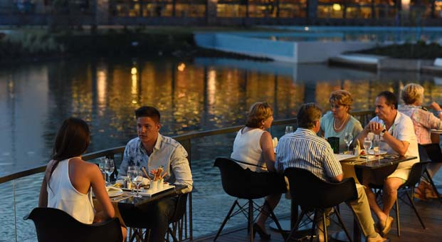 Dünya ve Türk mutfağına hakim geniş menüsü ile:Jiva Beach Resort