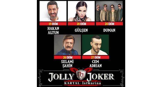 Jolly Joker, İstMarina'ya geliyor