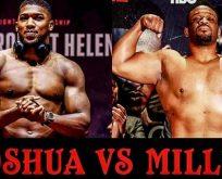 Anthony Joshua Jarell Miller boks maçı ne zaman saat kaçta hangi kanal canlı yayınlıyor