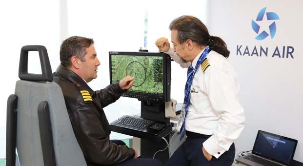 Norveç Polis Teşkilatı'nın kullandığı 'Görev Konsolu' Airshow'da tanıtıldı