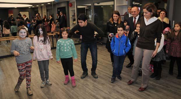 Kadıköy Belediyesi Çocuk Kültür Merkezi açıldı
