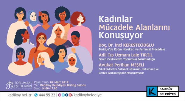 Kadıköy Belediyesinden 8 Mart etkinlikleri