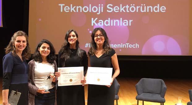 Procter & Gamble Türkiye Teknoloji Sektöründe Kadınlar Ödül Töreninden 5 ödülle döndü
