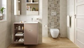 Kale Banyo'dan küçük ve dar banyolar için Little Big