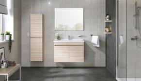 Kale Banyo 'Krea' mobilya serisi, sadelik ve şıklığı banyolara taşıyor