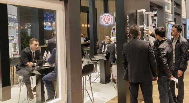 Kale Kapı Pencere, Avrasya Pencere Kapı ve Cam Fuarı'nda yeni ürünlerini sergiliyor