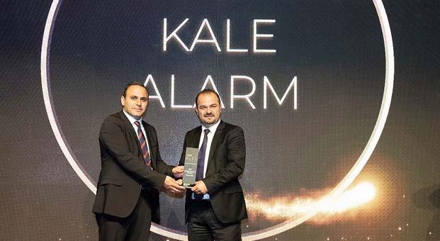 Kale Alarm'ın Mükemmel Müşteri Deneyimi ikinci defa ödüllendirildi