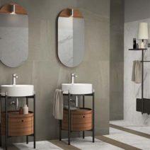 Kale'den küçük banyolar için tasarım tüyoları