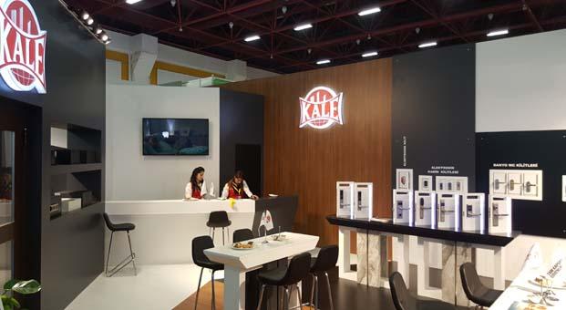 Kale Kilit ürünlerini ANFAŞ Otel Ekipmanları Fuarı'nda tanıttı
