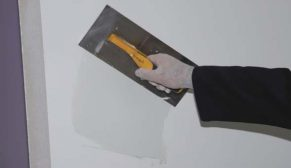 Kalekim Macunart ile boya öncesi pürüssüz sağlam yüzeyler