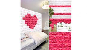 14 Şubat'ta sevgilinize kalpten bir duvar örün