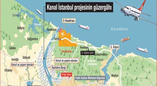 Kanal İstanbul; Asya, Avrupa ve Afrika'nın lojistik merkezi olacak
