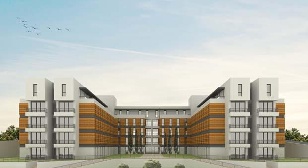 Hasanoğlu İnşaat Kandilli'deki Leed sertifikalı yurt binasını tamamladı