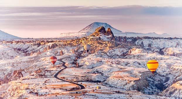 Aralık ayında farklı bir gözle Kapadokya