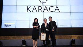 """The One Awards'tan Karaca'ya """"Yılın En İtibarlı Markası"""" ödülü"""
