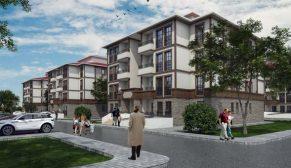 TOKİ Çorum Kargı'da yöresel mimaride bir mahalle inşa ediyor