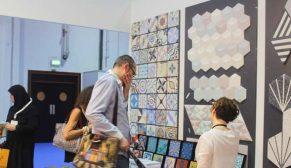 Karoistanbul'un desenli karo çinilerine Dubai Index/Surface Design'da yoğun ilgi