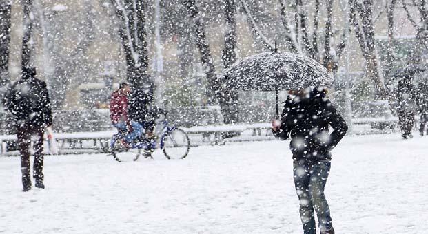 2018 yılının ilk kar tatli Ardahan'dan