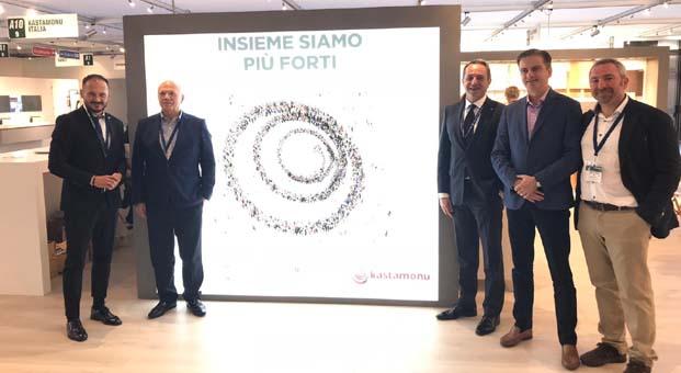 Kastamonu Entegre, İtalya'ya Özel Koleksiyonunu SICAM Fuarı'nda tanıttı