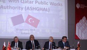Katar heyetinden Türk müteahhitlerine çağrı