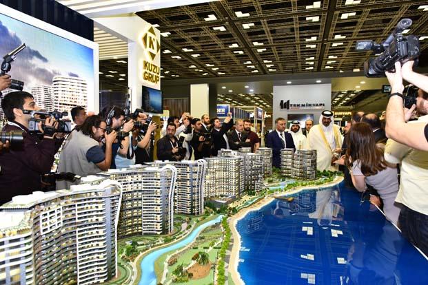 'Kanal İstanbul' Katar'da ilgi odağı oldu