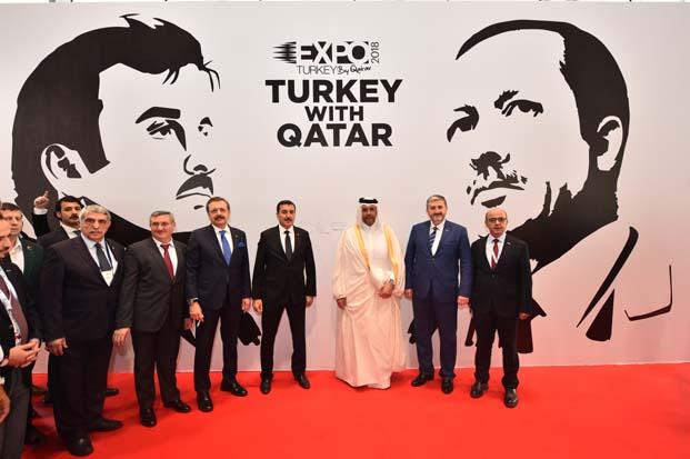 Katar'da 100 milyon dolar ihracat anlaşması ve 150 milyon lira gayrimenkul satışı