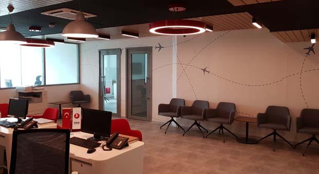 Kayı İnşaat Türk Hava Yolları'nın Cezayir'deki ofis inşaatını tamamladı