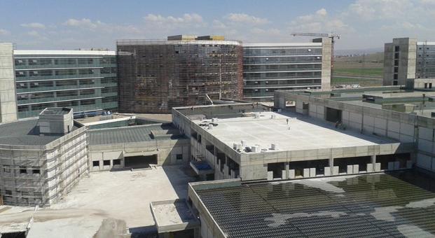 Kayseri Şehir Hastanesi'nin yalıtımdaki tercihi ODE