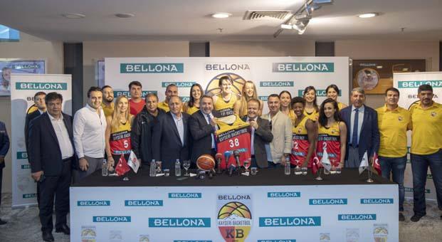 Bellona, Kayseri Basketbol Kulübü'ne sponsor oldu