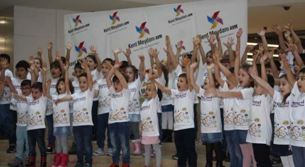 23 Nisan Ulusal Egemenli ve Çocuk Bayramı Kent Meydanı AVM'de dolu dolu geçecek